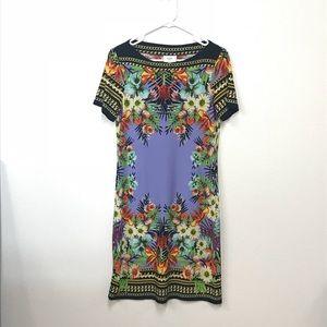 ECI New York floral print dress